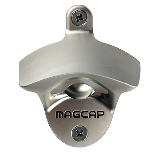 MAGCAP Magnetic Wall Mounted Bottle Opener