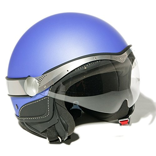 MOMO DESIGN Casque Jet - aqua bleu- taille S