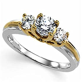 champagne diamond engagement rings settings