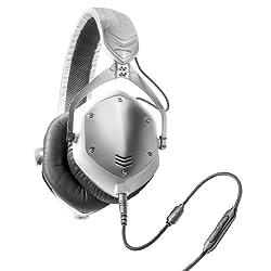 V-Moda Crossfade M-100 Over-Ear Headphones (White Silver)