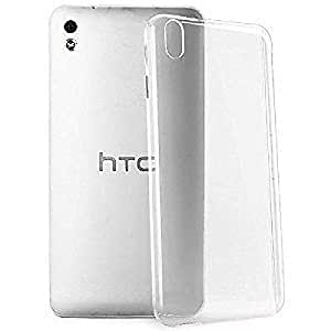 S Design Combo Pack Transparent cover for HTC Desire 326 + Universal Audio 3.5mm AUX Cable
