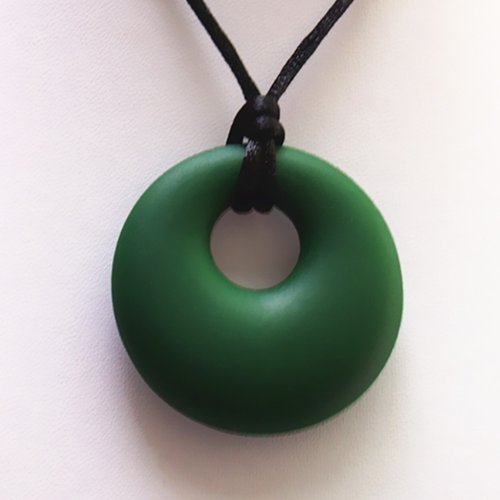 """The Art of CureTM Organic Teething Necklace """"GREEN"""", BPA Free, All Natural - 1"
