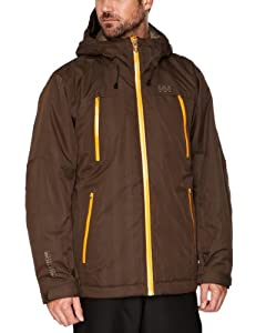 Helly Hansen Men's Mission Ski Jacket - Espresso, XX-Large (Old Version)