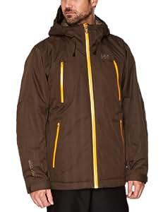 Helly Hansen Men's Mission Ski Jacket - Espresso, XX-Large