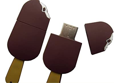USB Ice Cream 4GB - Food memory stick/drive for XP/Vista/Windows 7/Mac from EASYWORLD