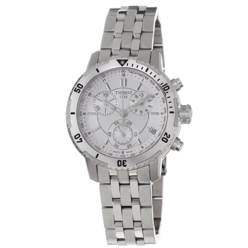 TISSOT PRS 200 T067.417.11.031.00 GENTS STAINLESS STEEL CASE CHRONOGRAPH WATCH