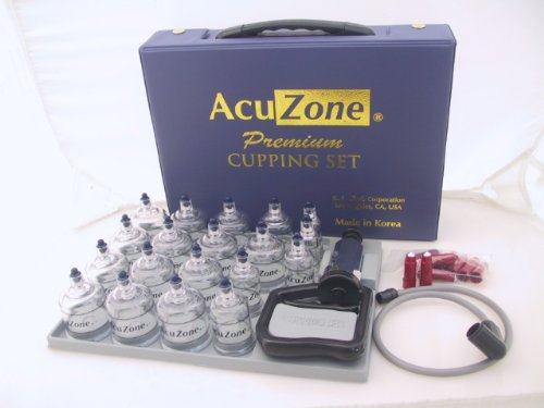 Premium Quality Cupping Set w/ 19 Cups, 10 Acu-pressure pointer ***BEST CUPPING SET IN KOREA***