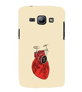 EPICCASE Beat of life Mobile Back Case Cover For Samsung Galaxy J2 (Designer Case)