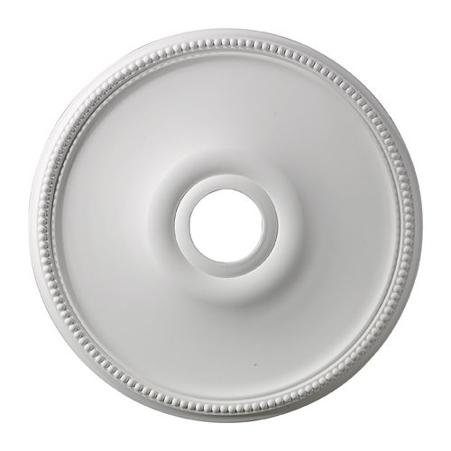 Elk Lighting M1003 Brittany Ceiling Medallion, 19-Inch, White Finish