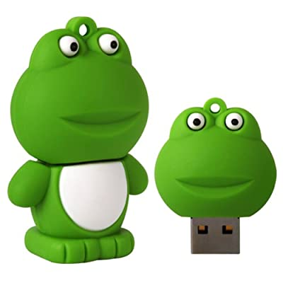 Cnl 8gb Frog Novelty Usb 2.0 Data Flash Drive Memory Stick Device by Checknet London