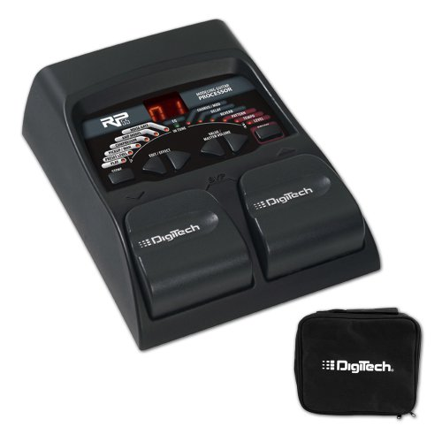 Digitech Rp55 Guitar Multi-Effects Processor + Digitech Gb50 Pedal Bag