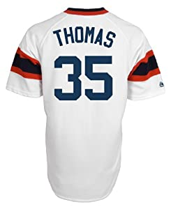 Chicago White Sox Frank Thomas Cooperstown Majestic Jersey by Majestic