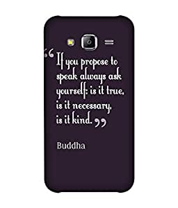 small candy 3D Printed Back Cover For Samsung Galaxy J5 2016 -Multicolor buddha