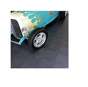 Motofloor® Garage Tiles Charcoal*