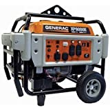 Generac Power Systems 5931 Professional Series Portable Generator with Electric Start, 8000-watt (Discontinued by Manufacturer)