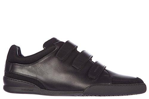 Dior scarpe sneakers uomo in pelle nuove b18 nero EU 39 3SN114VQH