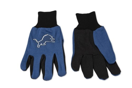 NFL Detroit Lions Two Tone Gloves at Amazon.com