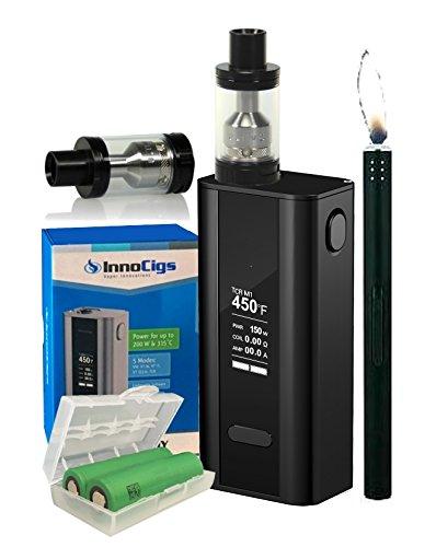 e-Zigarette Joyetech Innoci. Cuboid 150-200W & ULTIMO + 2x Sony VTC6 6240 mAh + Stabfeuerzeug GRATIS