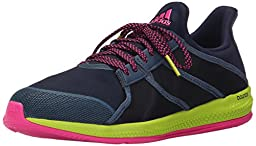 adidas Performance Women\'s Gymbreaker Bounce Training Shoe,Collegiate Navy/Blue/Shock Pink,8.5 M US