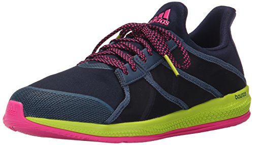Adidas Performance Women's Gymbreaker Bounce Training Shoe,Collegiate Navy/Blue/Shock Pink,8.5 M US