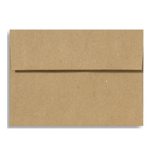 A7 Invitation Envelopes (5 1/4 x 7 1/4) - Grocery Bag (50 Qty.)