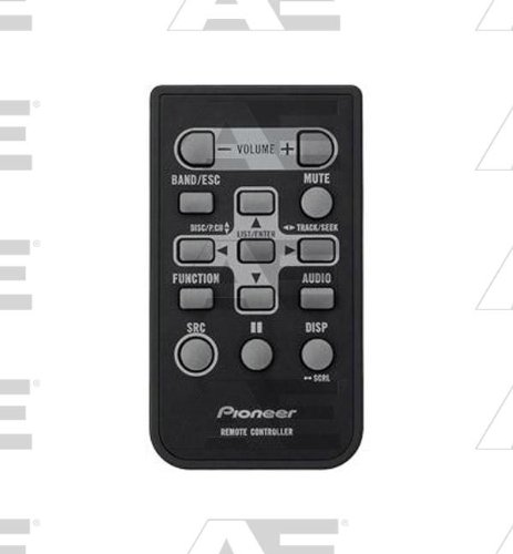 Pioneer Oem Original Part: Qxe1047 In-Dash Car Audio Cd Receiver Remote Control
