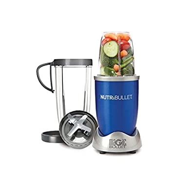NutriBullet (Blue) Hi-Speed Blender/Mixer, 8-piece Set