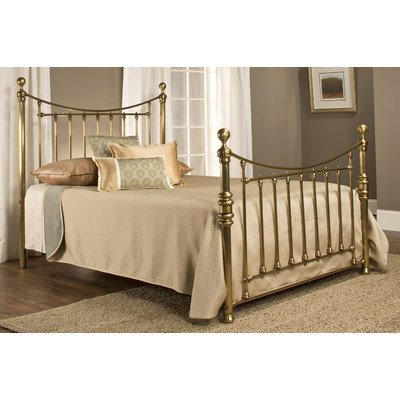 Old England Slat Bed Size: Queen front-964384