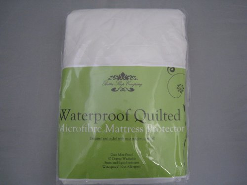 The Bettersleep Company Brand Waterproof Quilted Microfibre Mattress Protectors King Size Bed- Hotel Quality Anti Dustmite, Waterproof, Absorbent, Breathable & Fully Fitted