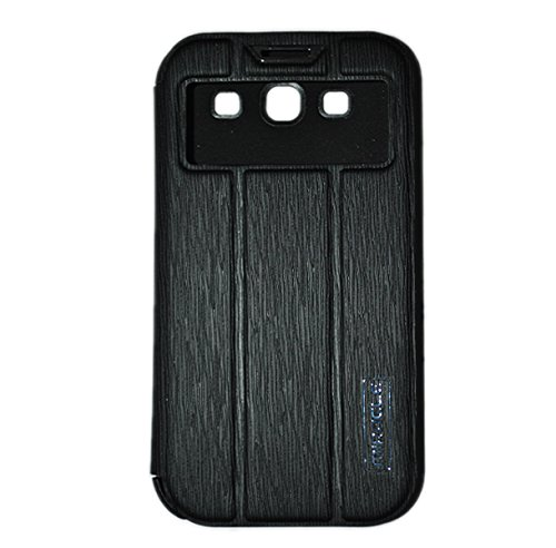 MIRACLE BLACK Flip Cover For SAMSUNG GALAXY S3 I9300/I9301i
