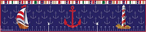 Mona Melisa Designs Baby Growth Chart, Nautical