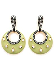 Akshim Multicolour Alloy Earrings For Women - B00NPY84QK