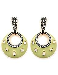 Akshim Multicolour Alloy Earrings For Women - B00NPY84QK