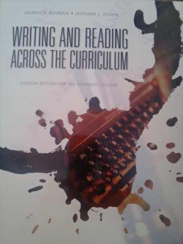 reading and writing to learn strategies across the curriculum