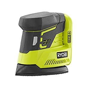 Ryobi Sanders One+ 18-Volt Corner Cat Finish Sander with Sandpaper Assortment P401