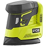 Ryobi P401 ONE+ 18-Volt Corner Cat Finish Sander with Sandpaper Assortment (battery and charger sold separately)