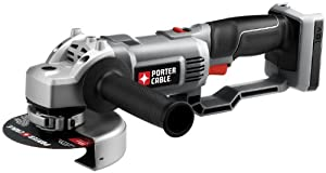PORTER-CABLE Bare-Tool PC18AG 18-Volt Cordless Expansion Angle Grinder (Tool Only, No Battery) by PORTER-CABLE