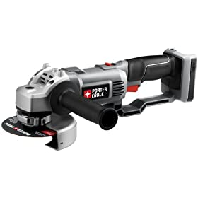 Bare-Tool Porter-Cable PC18AG 18-Volt Cordless Expansion Angle Grinder (Tool Only, No Battery)