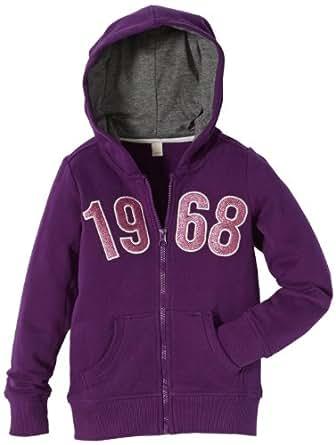 Esprit - sweat-shirt  capuche [alias] - fille - Violet - FR : 3 ans (Taille Fabricant : 92/98)