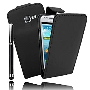 Etui Housse Luxe pour Samsung Galaxy Trend Lite S7390 + STYLET et 3 FILMS OFFERTS !!