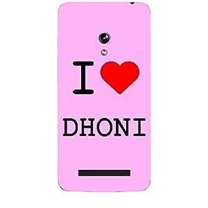 Skin4gadgets I love Dhoni Colour - Light Pink Phone Skin for ZENPONE 5