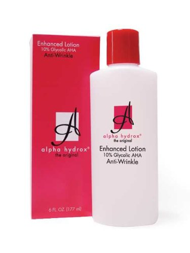 Alpha Hydrox Enhanced Lotion 10 percent Glycolic AHA Anti-Wrinkle