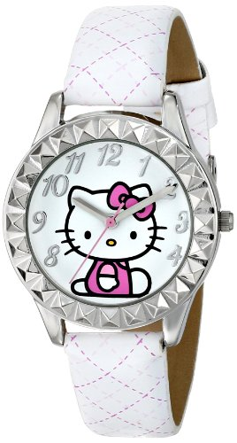 Hello-Kitty-Kids-HKAQ2800-White-Watch