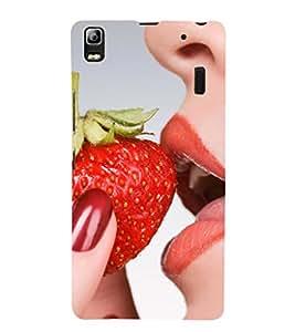 EPICCASE seduction bite Mobile Back Case Cover For Lenovo K3 Note (Designer Case)
