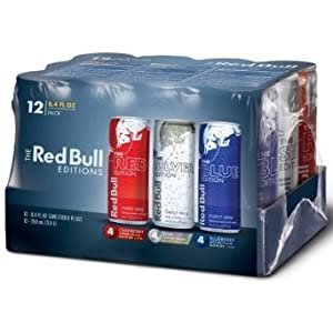 Red Bull Editions, Variety 12 pack, 8.4 oz. cans