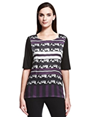 Autograph Linear Graphic Top