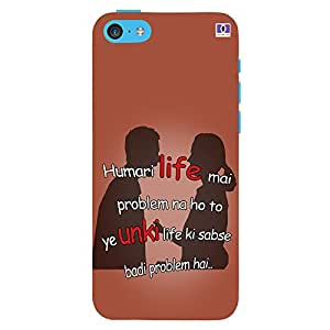 Life - Mobile Back Case Cover For Apple Iphone 5C
