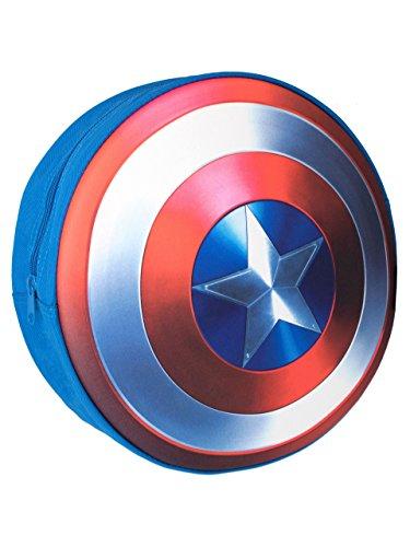 Marvel Garçons Captain America Bouclier Sac à Dos