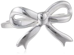 Sterling Silver Bow Ring, Size 6