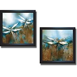 Faith & Believe by J. P. Prior 2-pc Premium Satin-Black Framed Canvas Set (Ready to Hang)